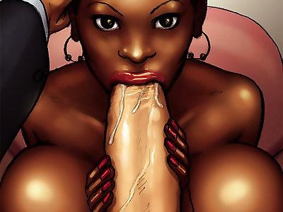 Black Woman Cartoon Porn