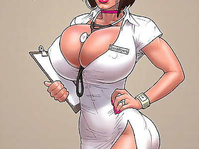 Nurse swallows
