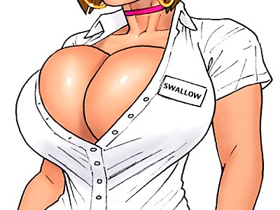 cartoon nurse boobs - Sexy nurse Ivana Swallow with big cartoon boobs from John Persons the pit